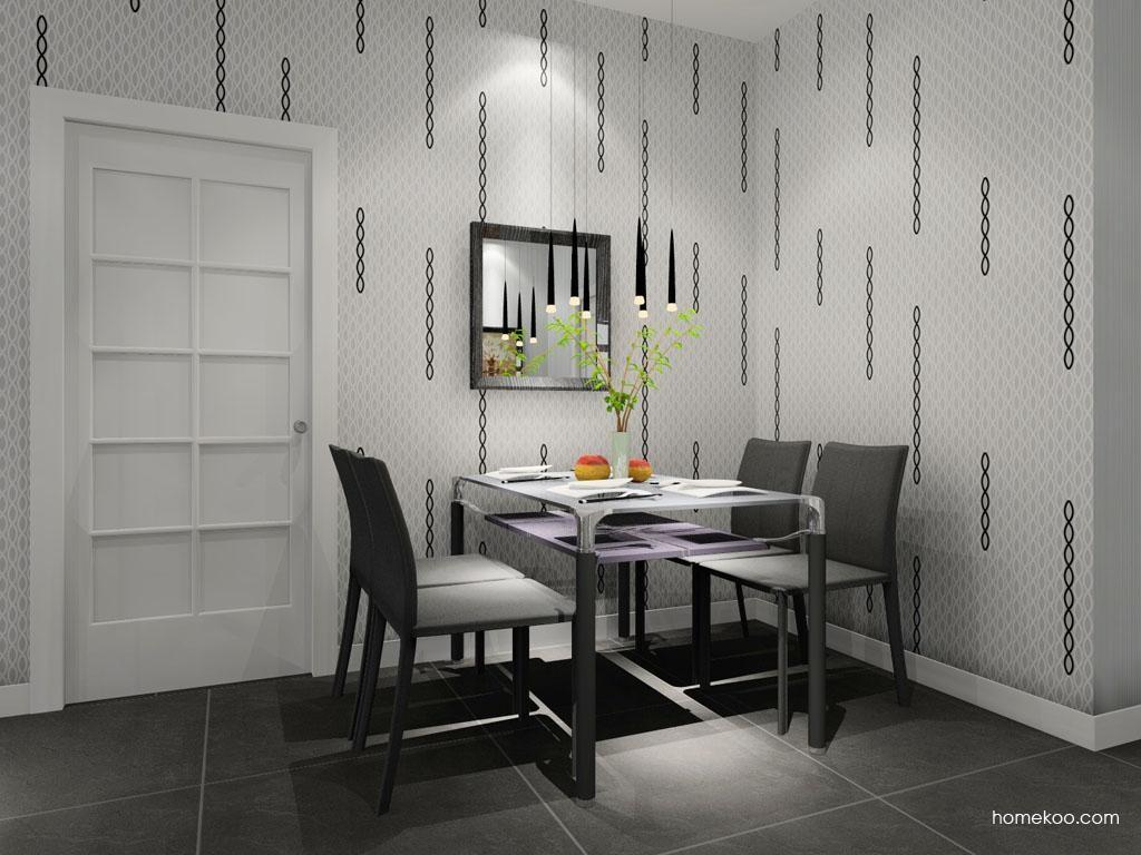 简约主义餐厅家具E7891