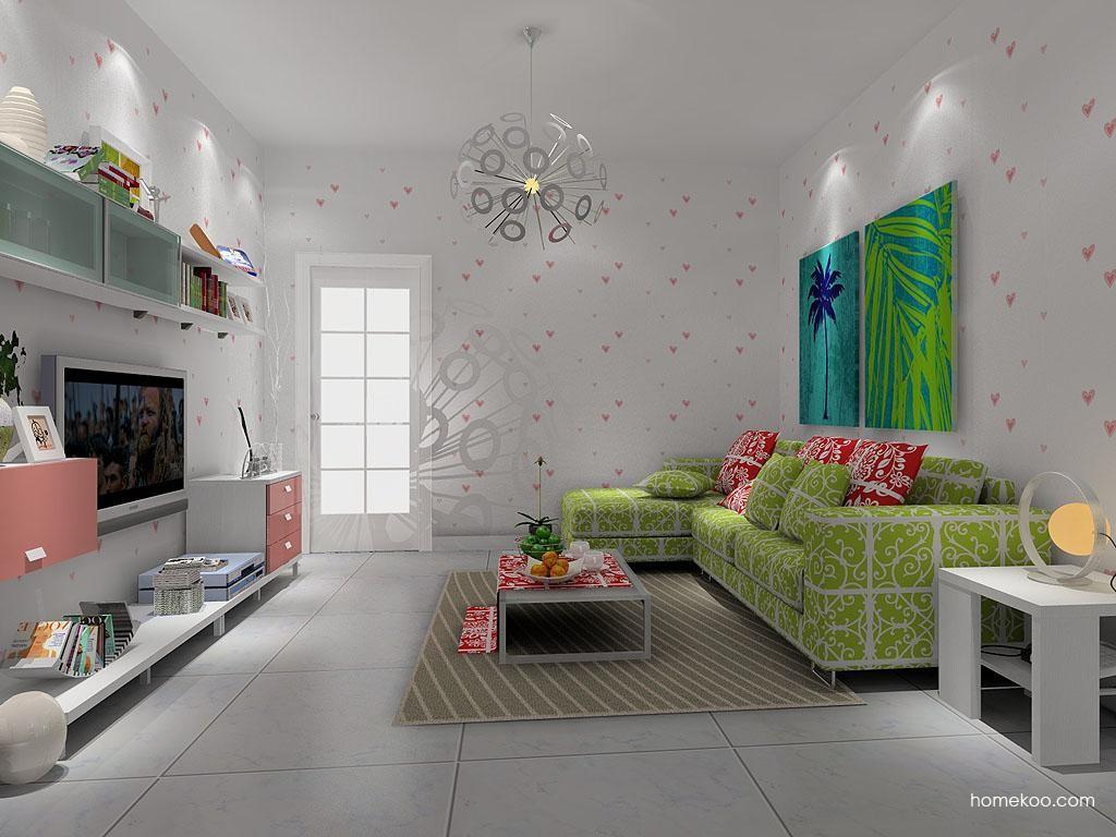 浪漫主义客厅家具D7895