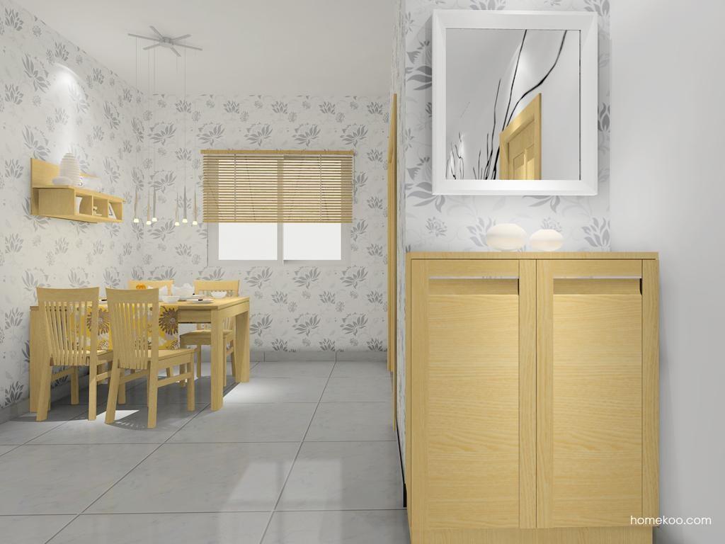 丹麦本色餐厅家具E7904