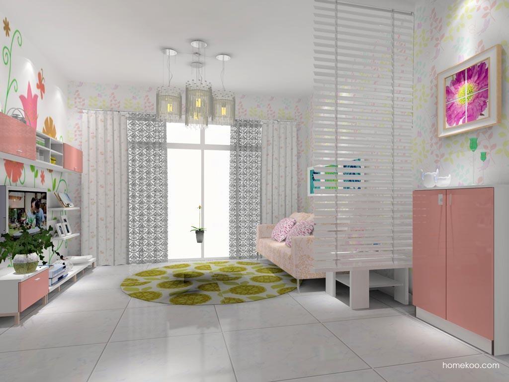 浪漫主义客厅家具D7907