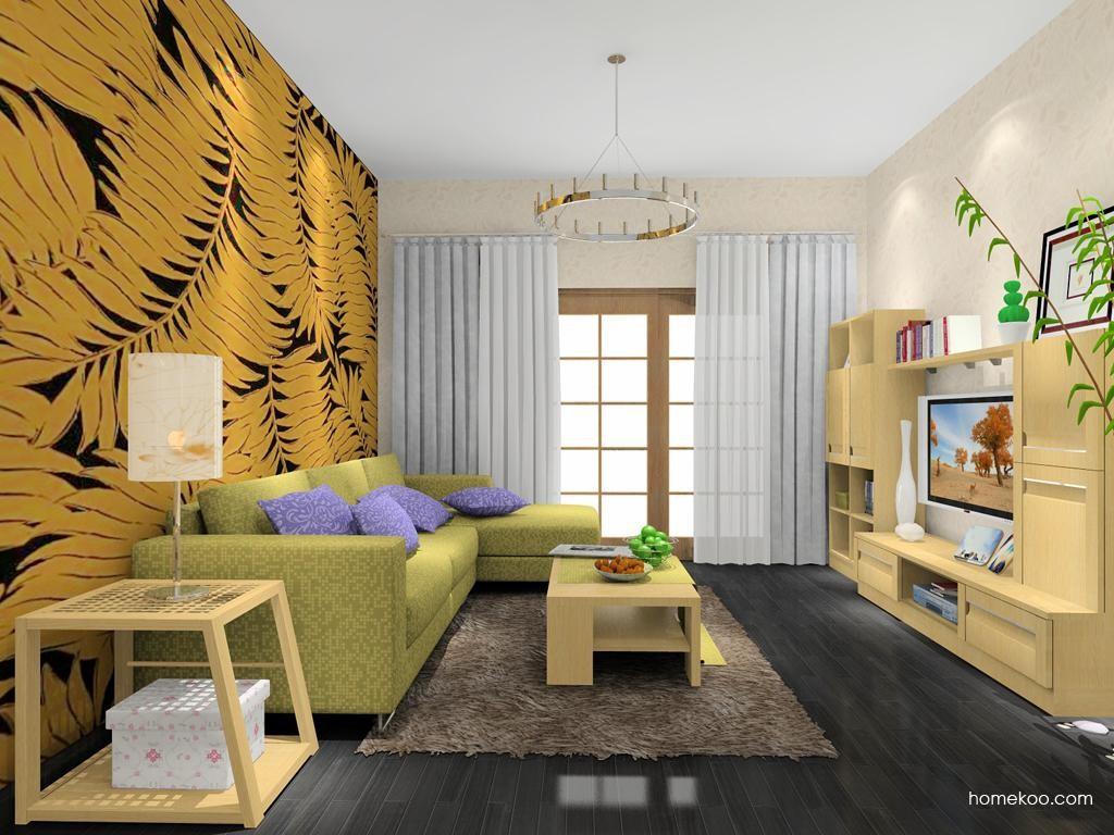 丹麦本色客厅家具D7909