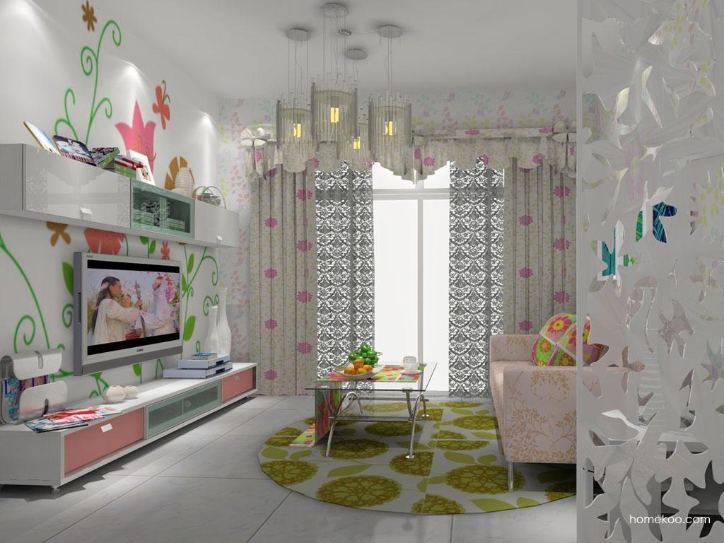 浪漫主义客厅家具D7916
