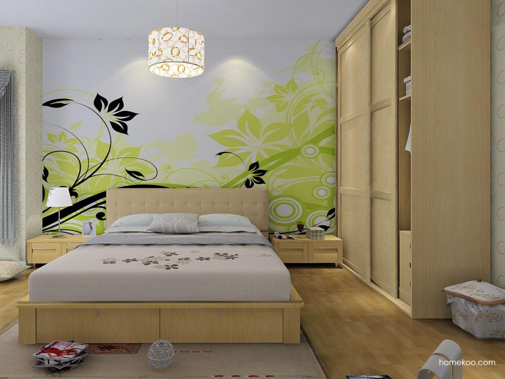 丹麦本色卧房家具A8532