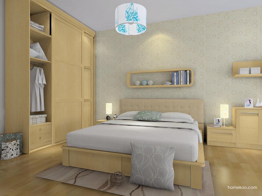 丹麦本色卧房家具A8540