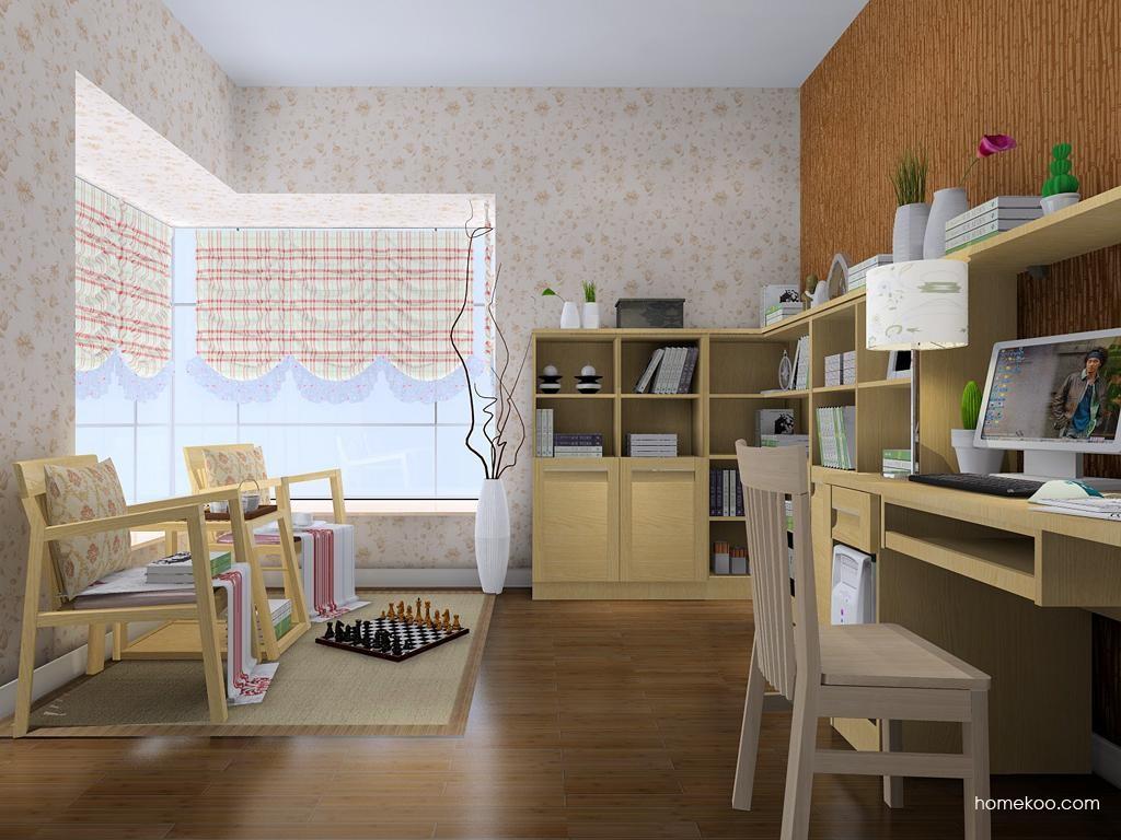 丹麦本色书房家具C8084