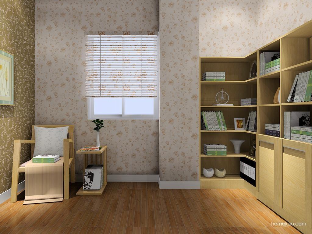 丹麦本色书房家具C8087