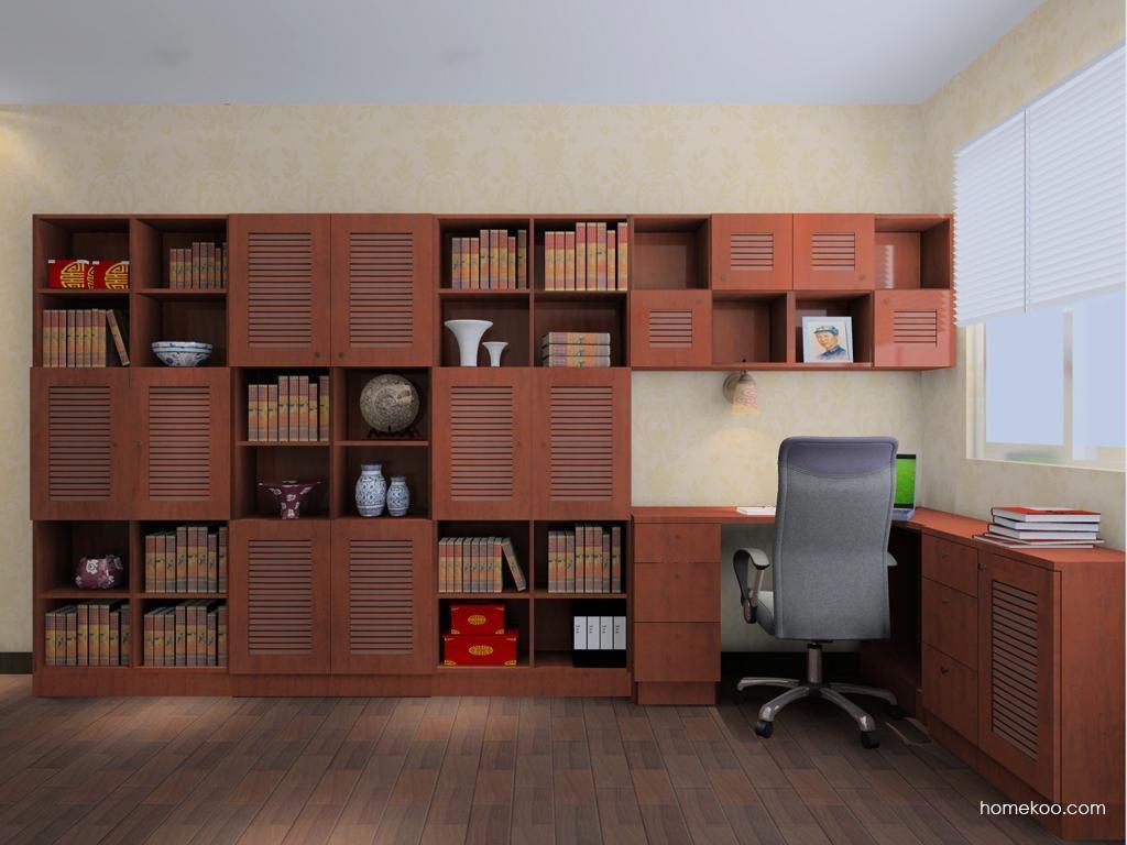 新中式主义书房家具C8090