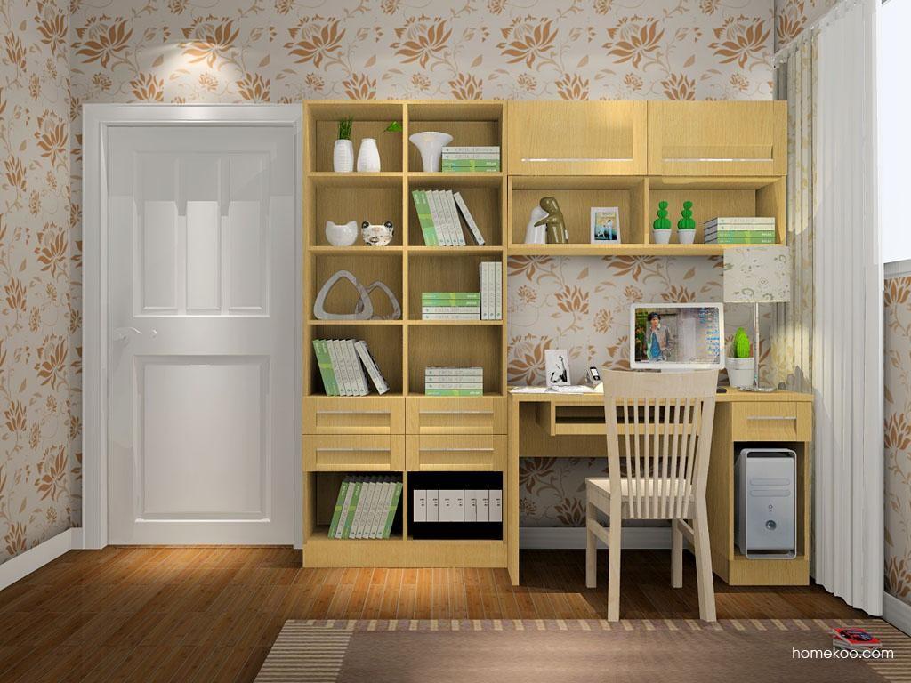 丹麦本色书房家具C8109