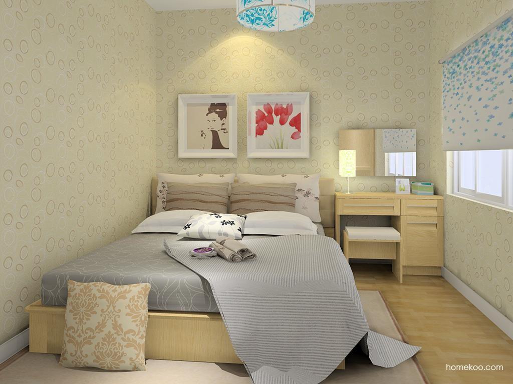 丹麦本色卧房家具A8627