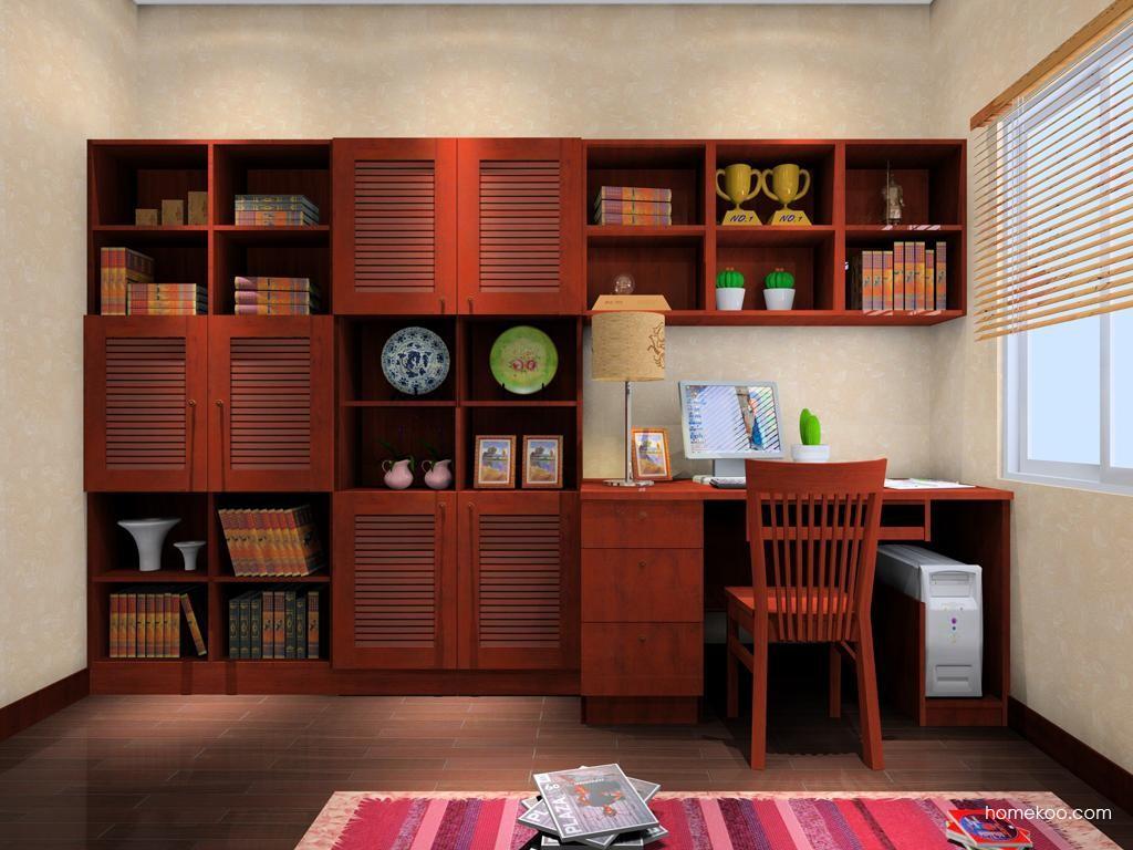 新中式主义书房家具C8126