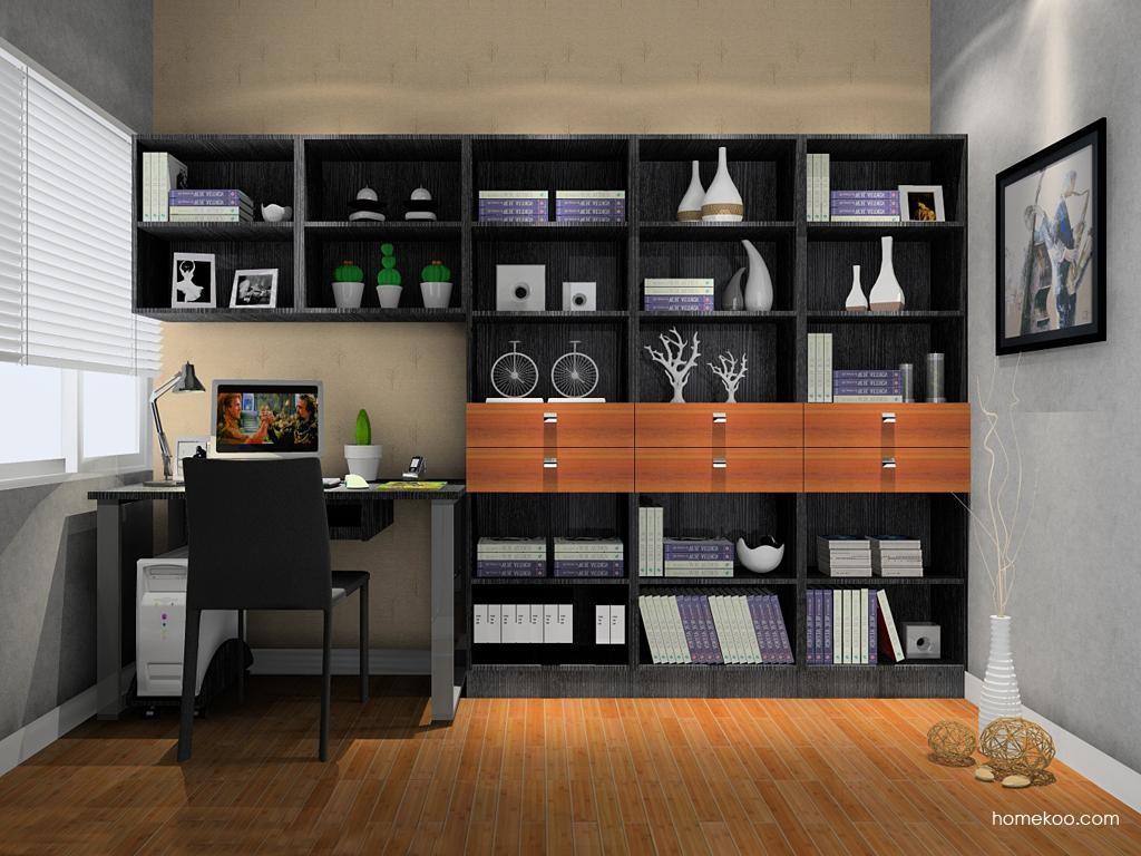 德国森林书房家具C8125