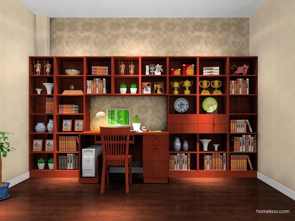 新中式主义书房家具C8131
