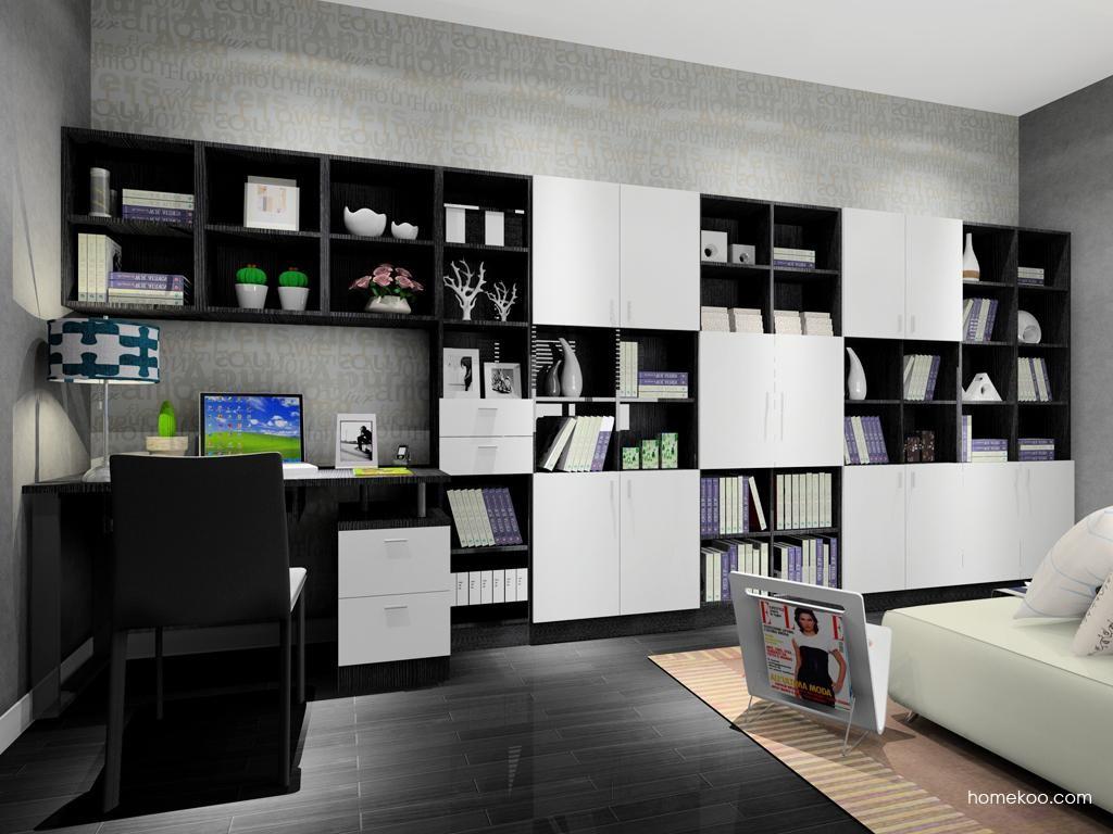 简约主义书房家具C8136