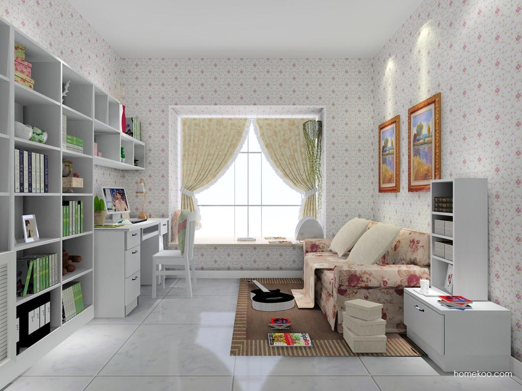 韩式田园书房家具C8143