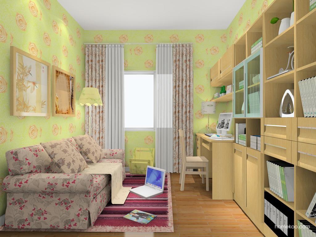 丹麦本色书房家具C8150