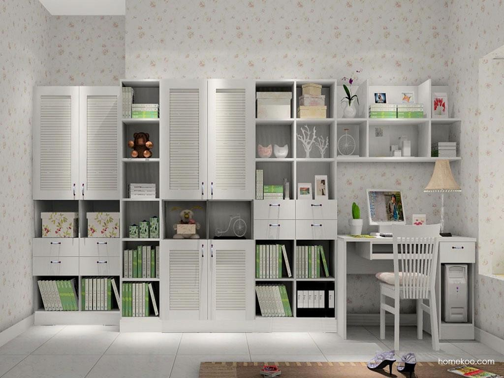韩式田园书房家具C8165