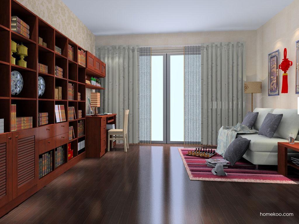 新中式主义书房家具C8162