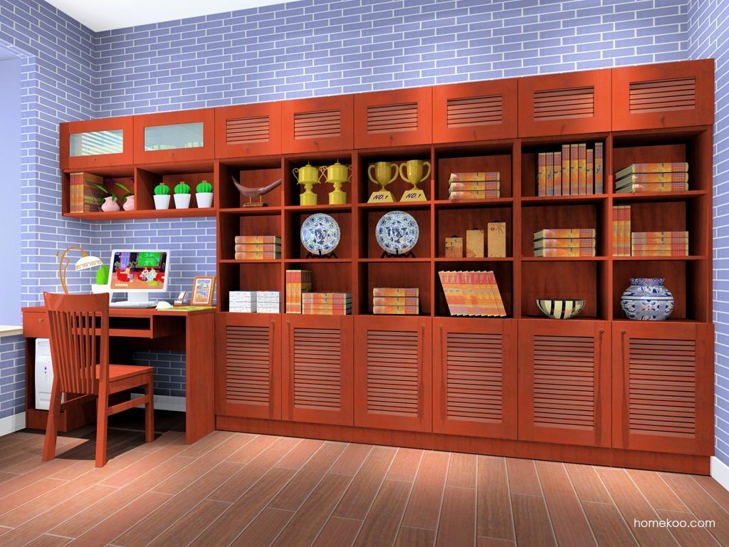 新中式主义书房家具C8172