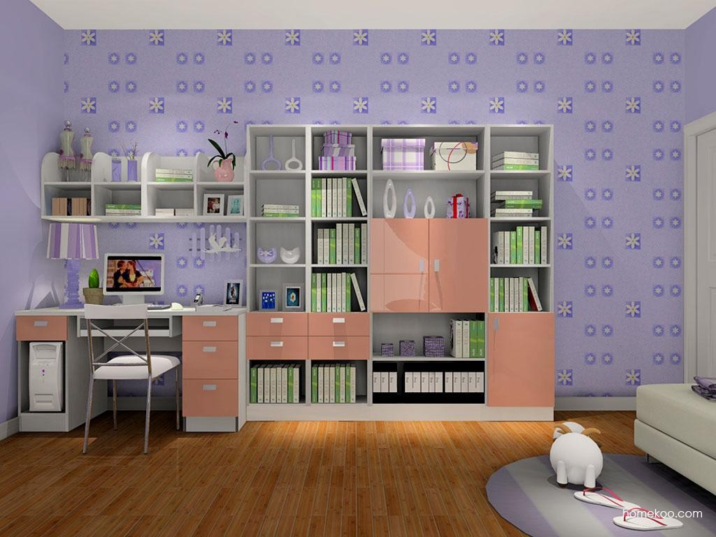 浪漫主义书房家具C8178