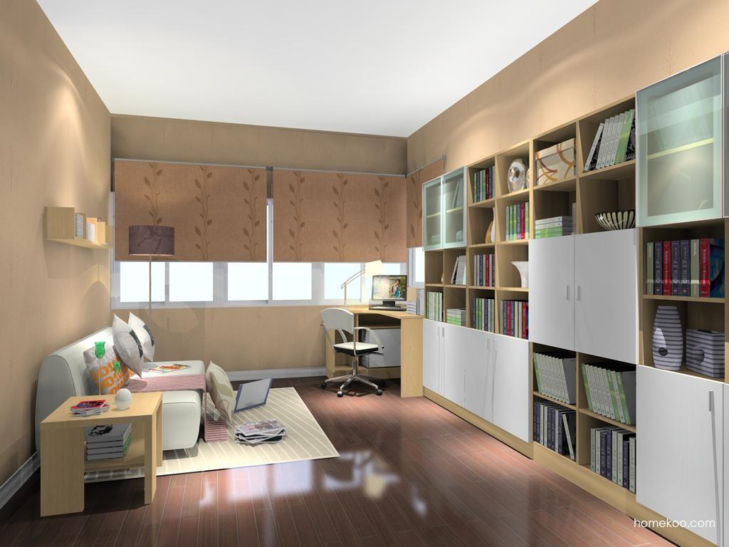 新实用主义书房家具C8188