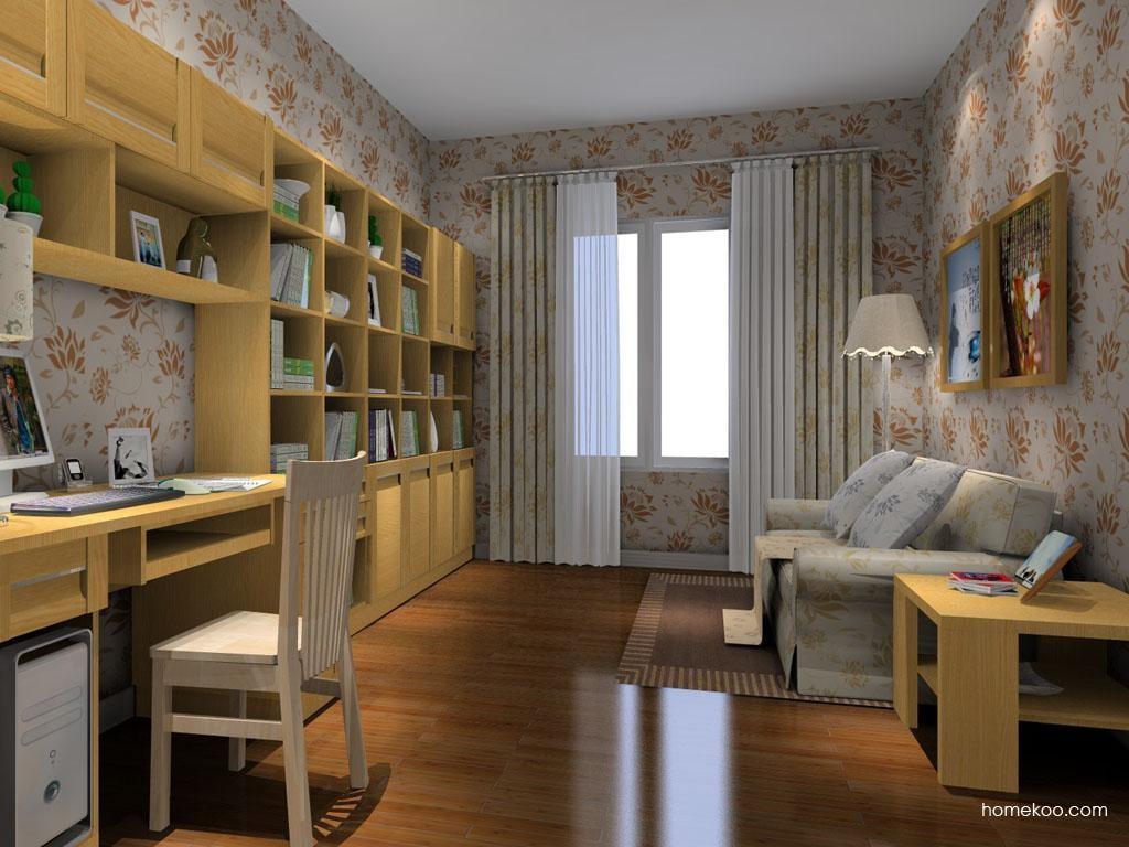 丹麦本色书房家具C8186