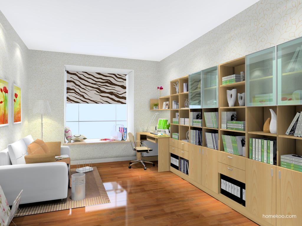 新实用主义书房家具C8191