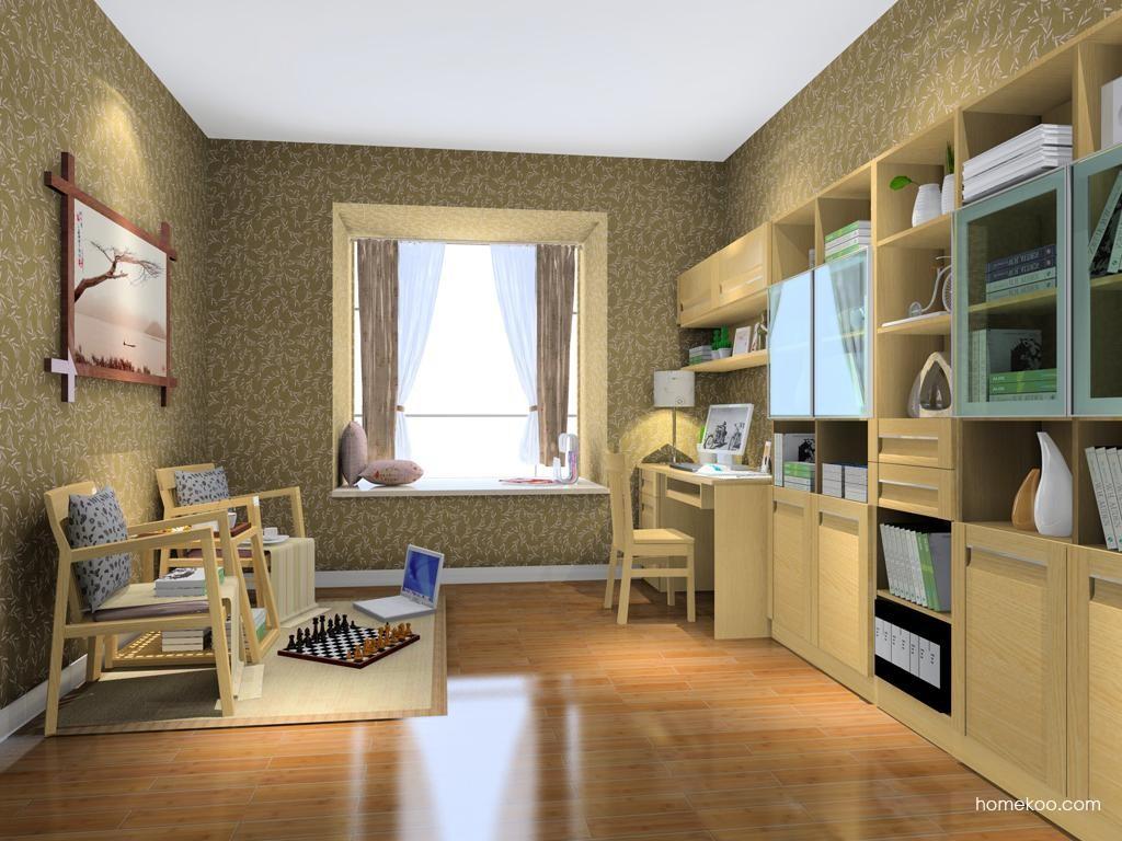丹麦本色书房家具C8203