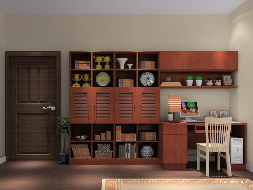 新中式主义书房家具C8209