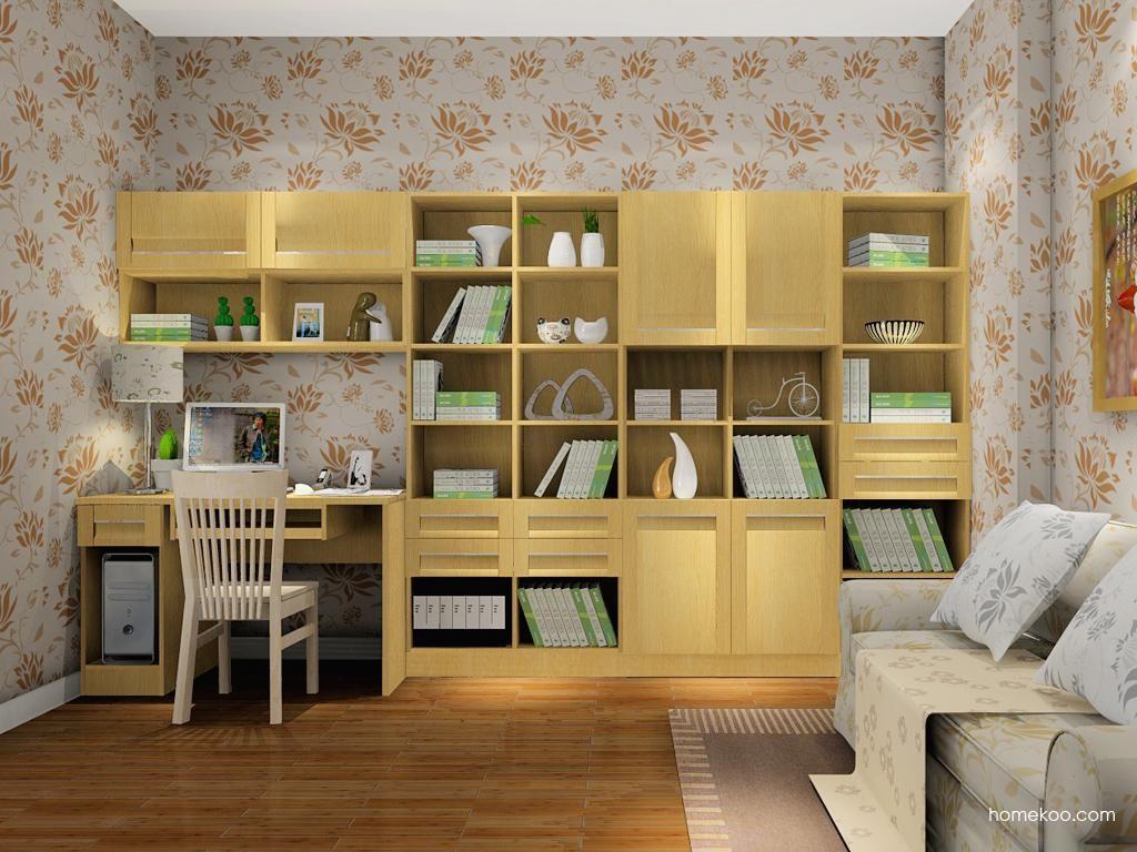 丹麦本色书房家具C8224