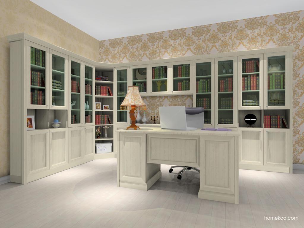 英伦印象书房家具C8233