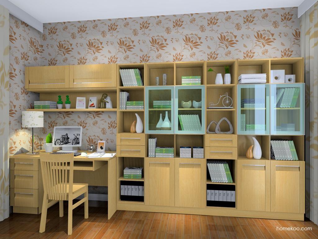 丹麦本色书房家具C8216