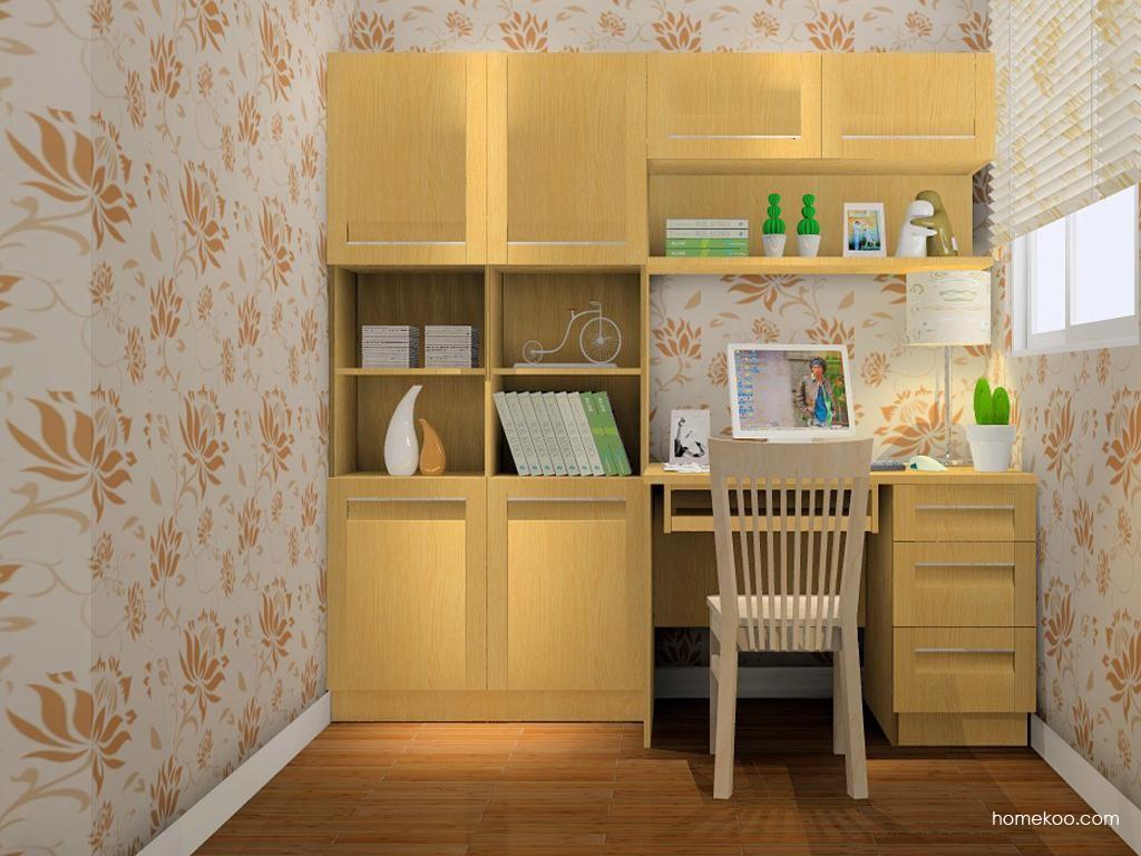 丹麦本色书房家具C8225