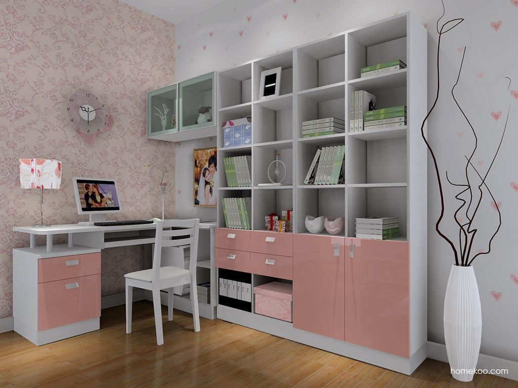 浪漫主义书房家具C8234