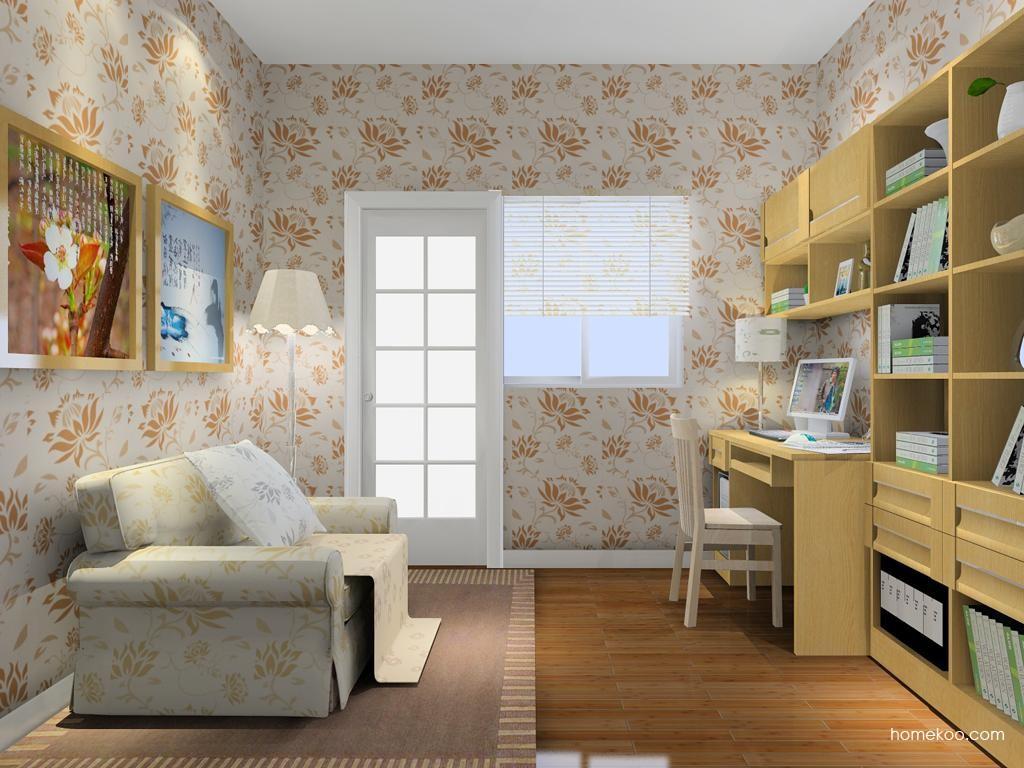 丹麦本色书房家具C8239