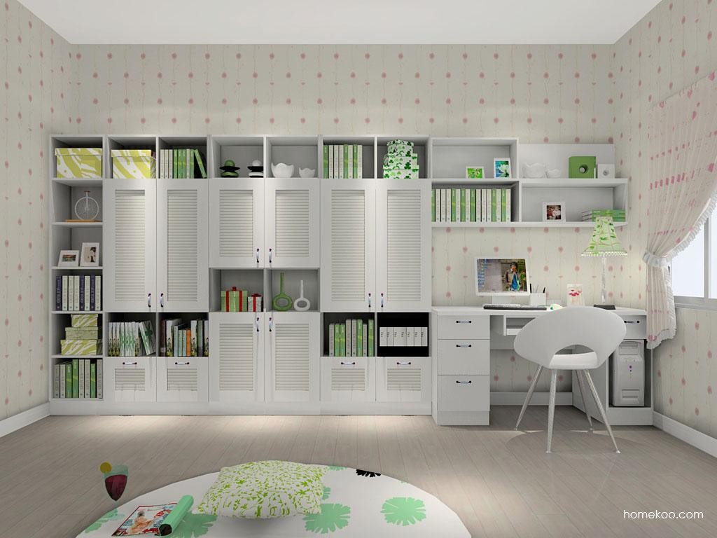 韩式田园书房家具C8247