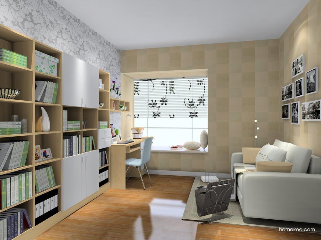 新实用主义书房家具C8238