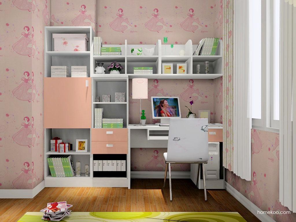浪漫主义书房家具C8267