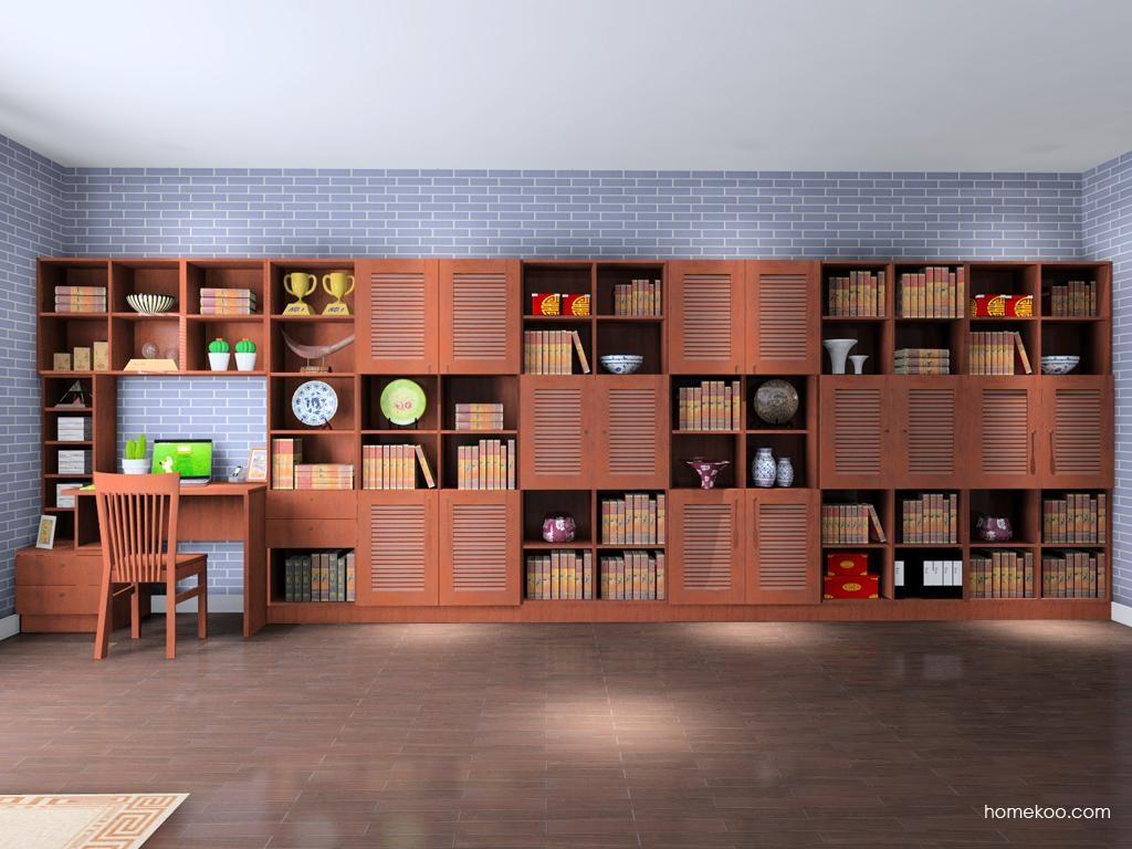 新中式主义书房家具C8277