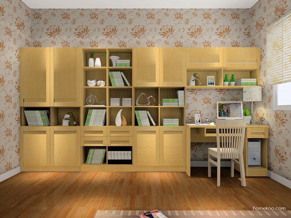 丹麦本色书房家具C8280