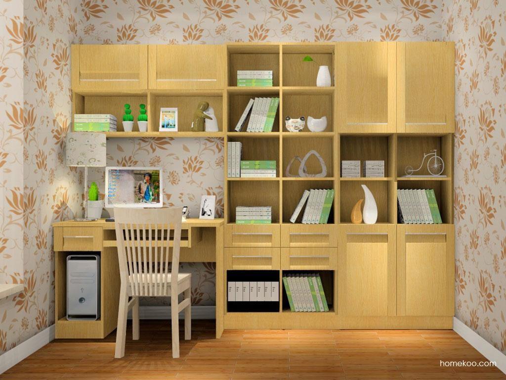 丹麦本色书房家具C8305
