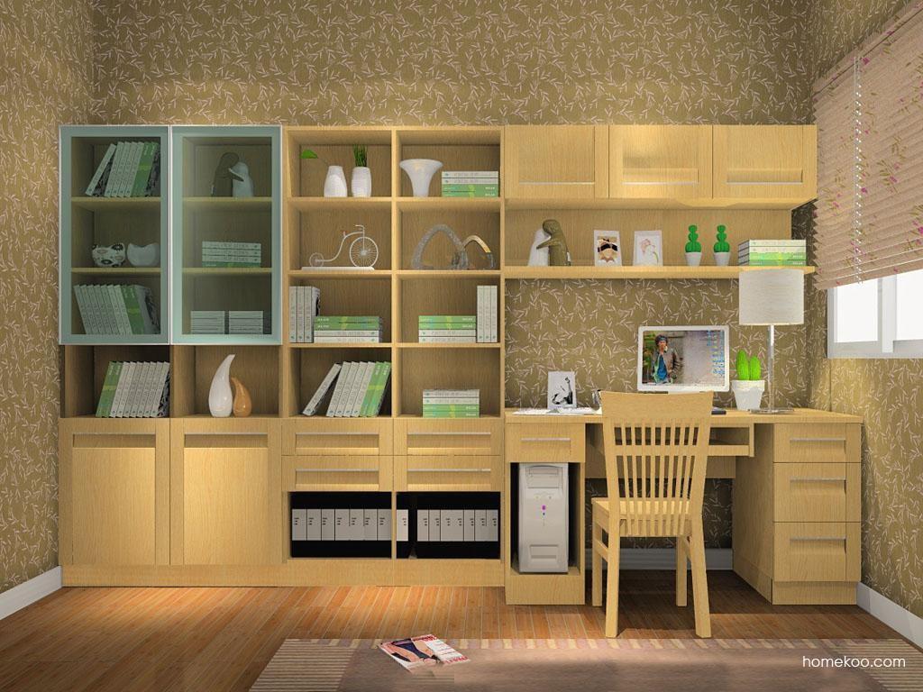 丹麦本色书房家具C8307