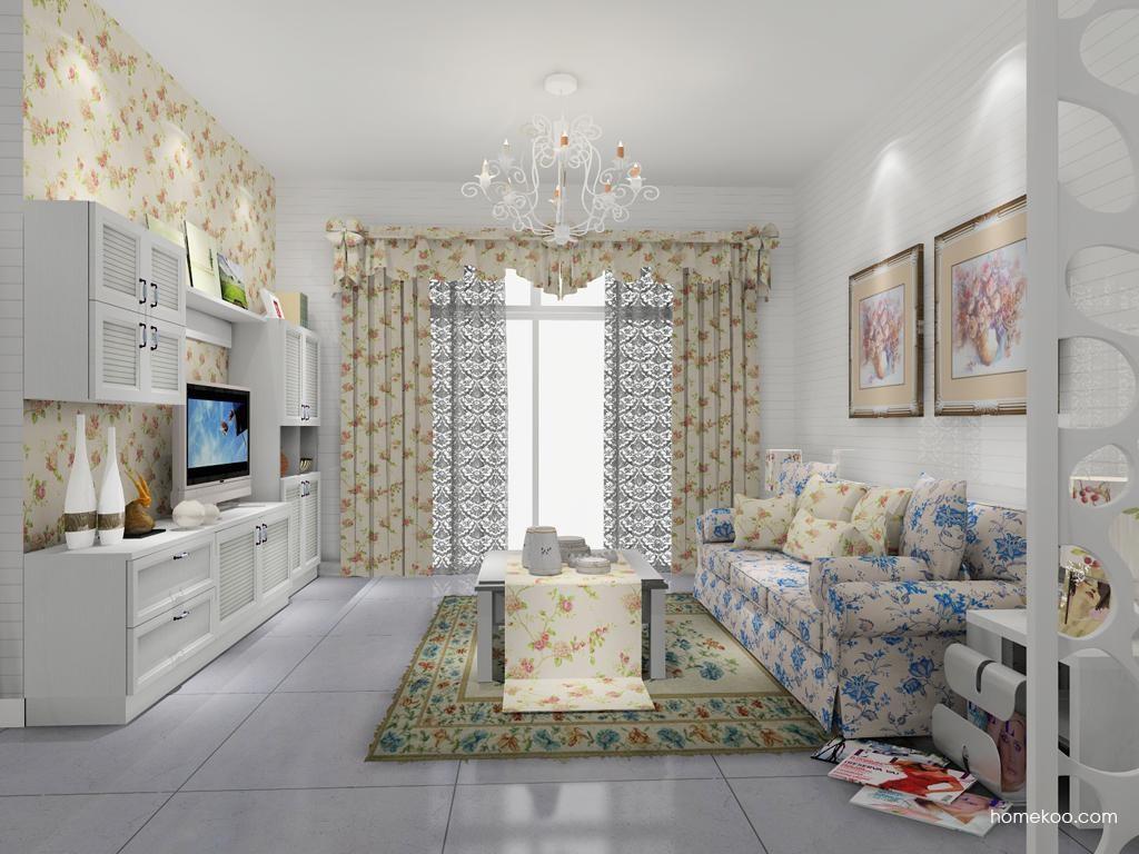 韩式田园客厅家具D7922