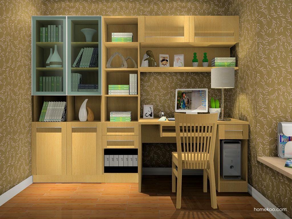 丹麦本色书房家具C8311