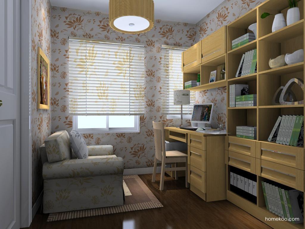 丹麦本色书房家具C8316