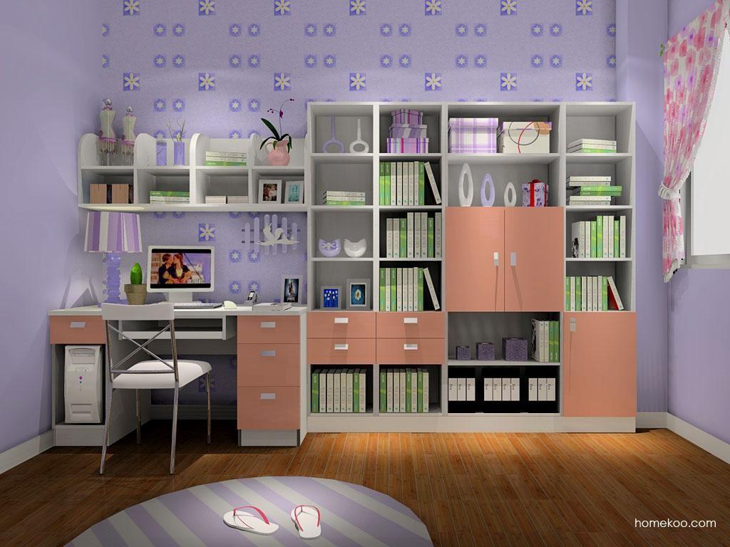 浪漫主义书房家具C8309