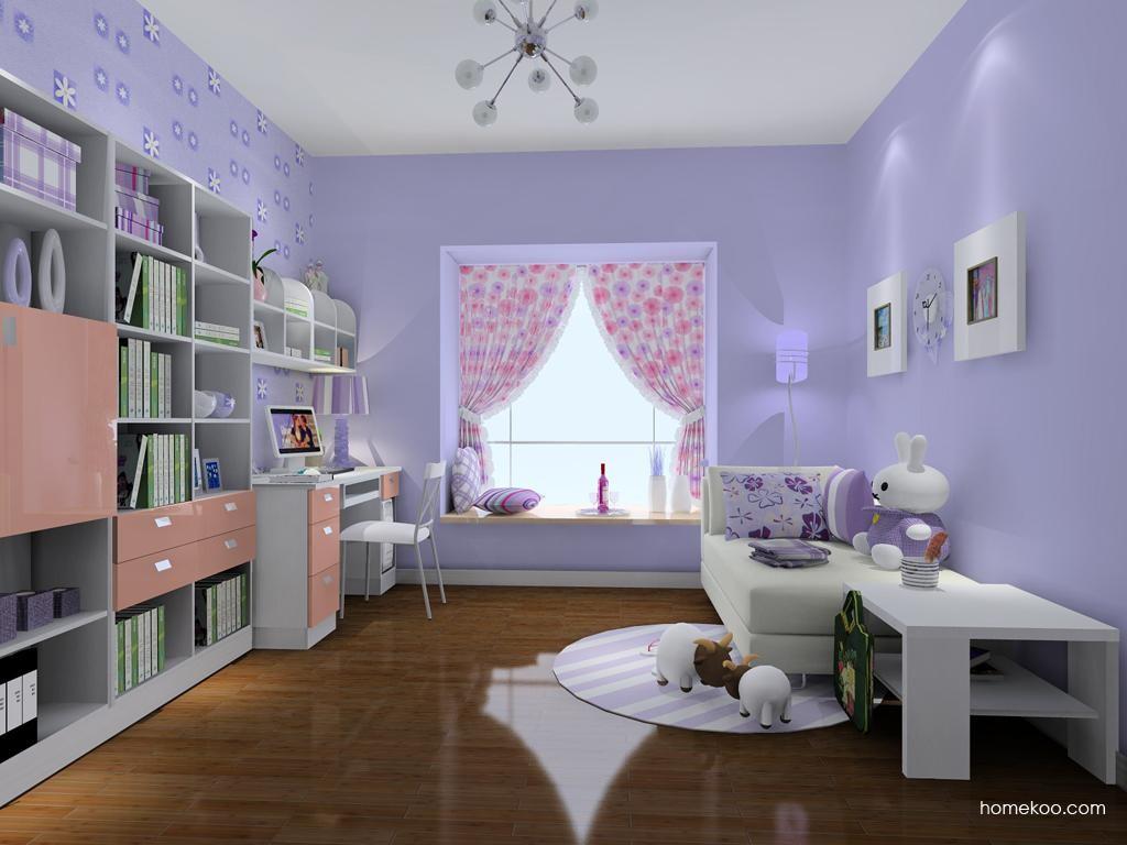浪漫主义书房家具C8314