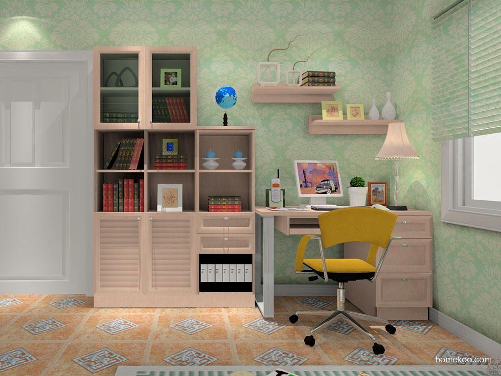 北欧阳光书房家具C8323