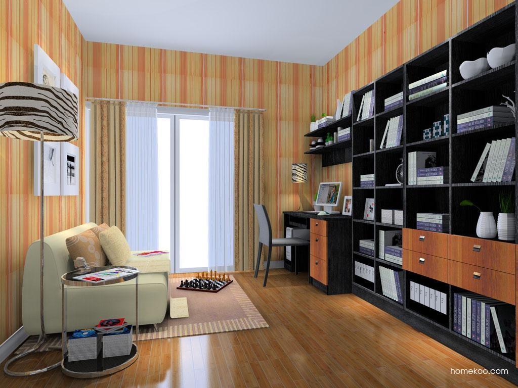 德国森林书房家具C8334