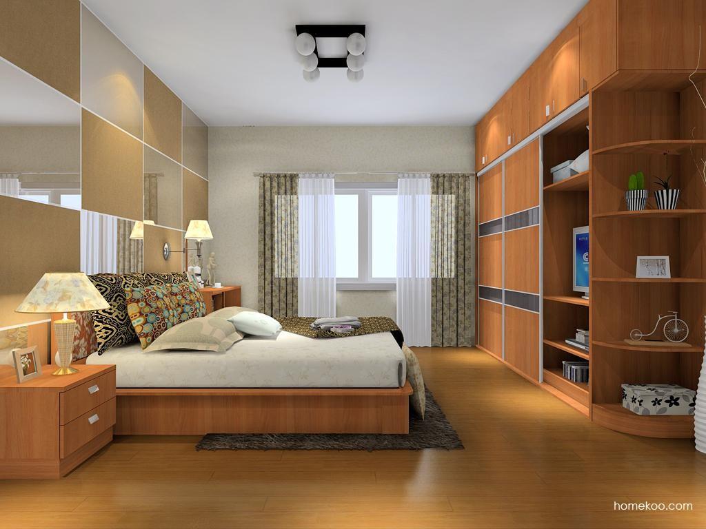 新实用主义卧房家具A8791