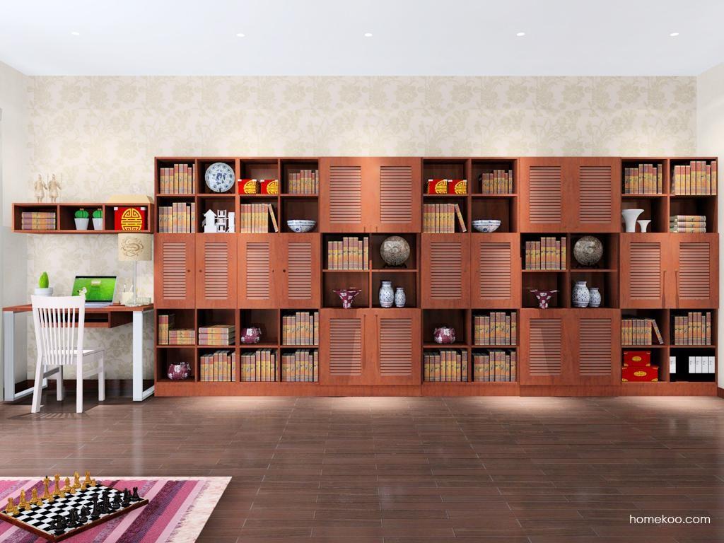 新中式主义书房家具C8346